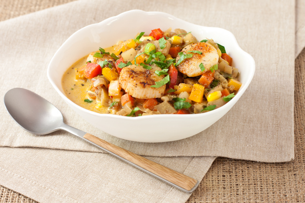 Scallop Corn Chowder from Recipe Renovator