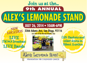 Alex's Lemonade Stand | San Diego July 26, 2014
