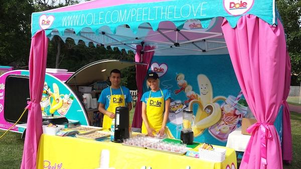 Dole Peel the Love Banana Cabana