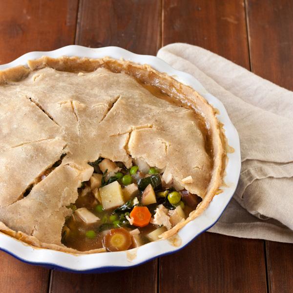 Gluten-free Chicken Pot Pie from Stephanie at Recipe Renovator   Low-sodium, migraine-friendly