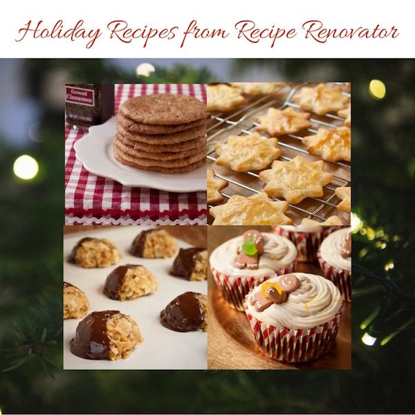 Holiday recipes from Recipe Renovator | All gluten-free!