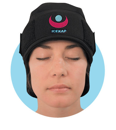 IceKap migraine relief hat
